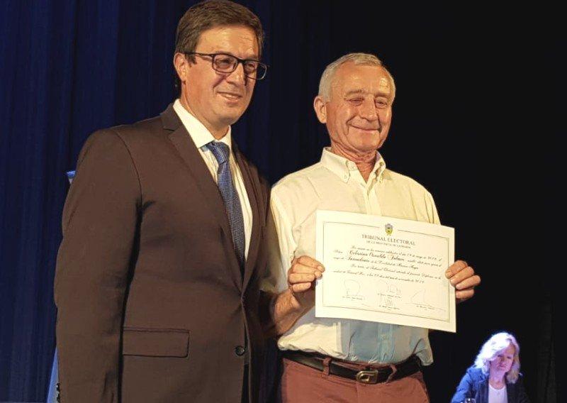 Autoridades locales electas recibieron diplomas