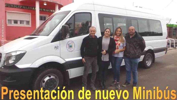 Nuevo minibús para el municipio