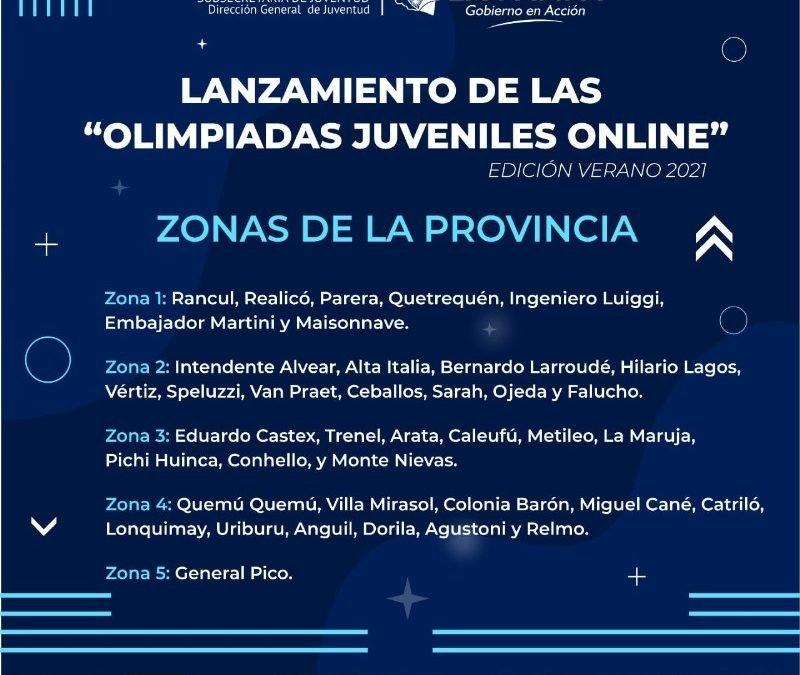 Olimpiadas Juveniles Online, edición verano 2021
